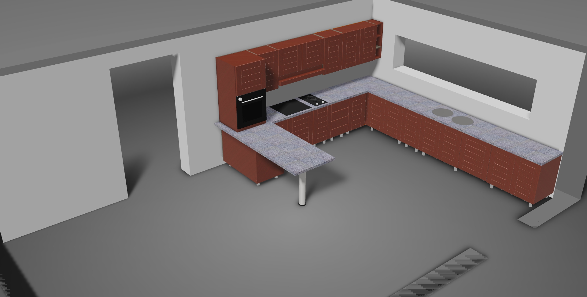 Disegno cucina 3d top disegnare la cucina in d images for Disegnare cucina 3d online